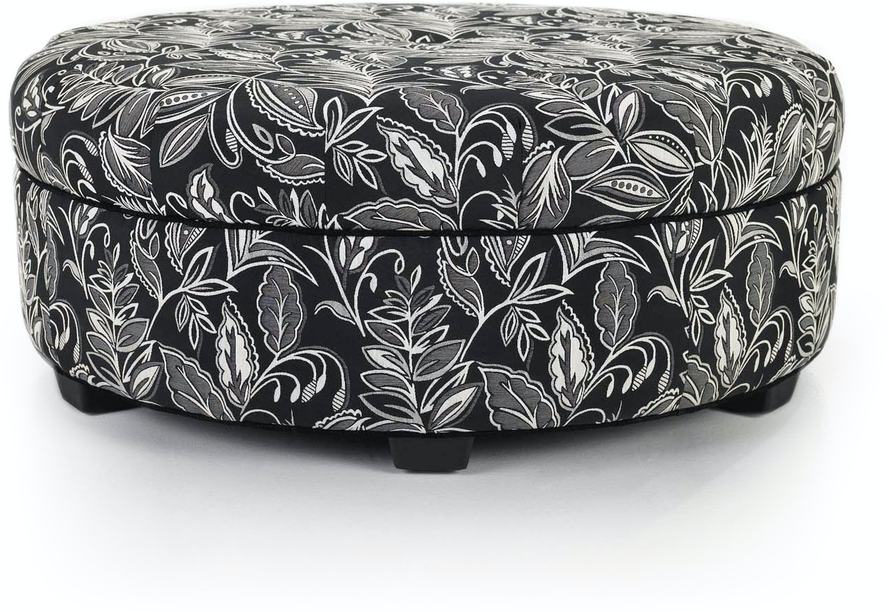 Smith Brothers Living Room Cocktail Ottoman 979-50 - Dewey ...