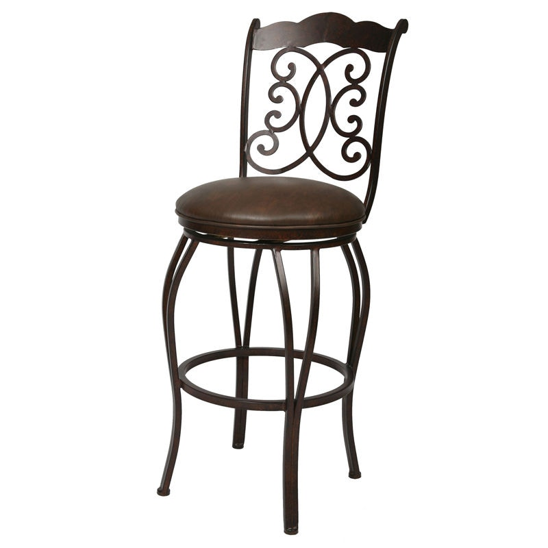Superbe Pastel Furniture Athena Swivel Barstool AH 225 AR 649 26