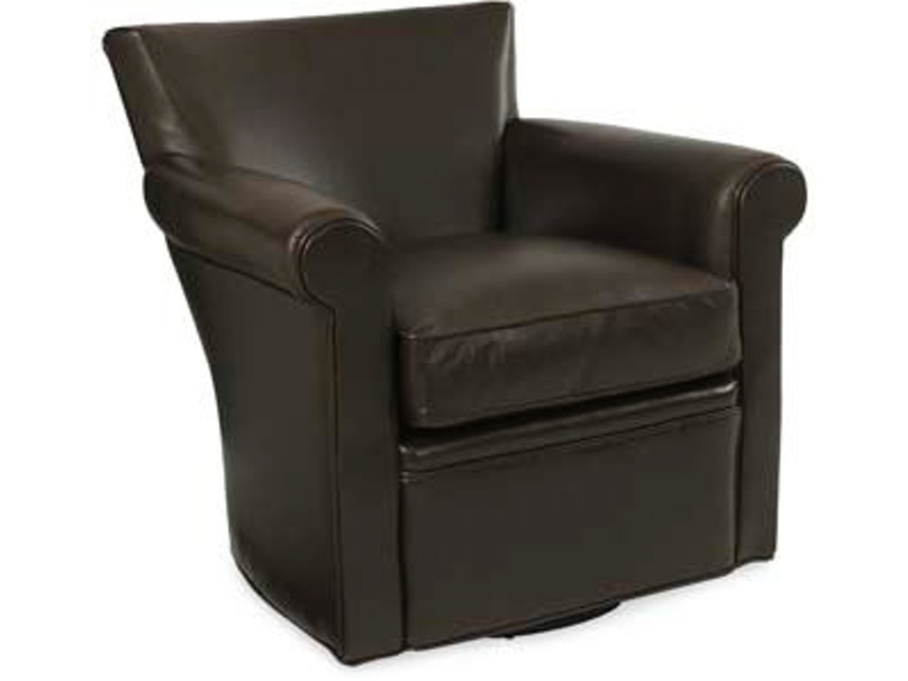 Larren Grey Living Room Philippe Leather Swivel Chair L1265 Sw Whitley Furniture Galleries