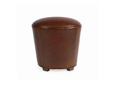 Larren Grey Muffette Leather Stool L17
