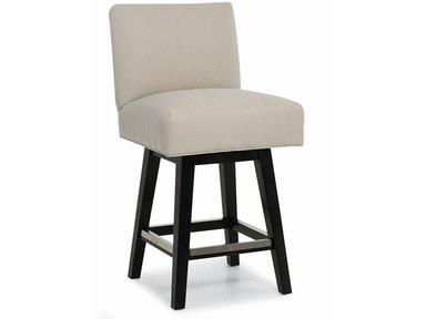 Larren Grey Beasley Swivel Counter Stool 3076-SW