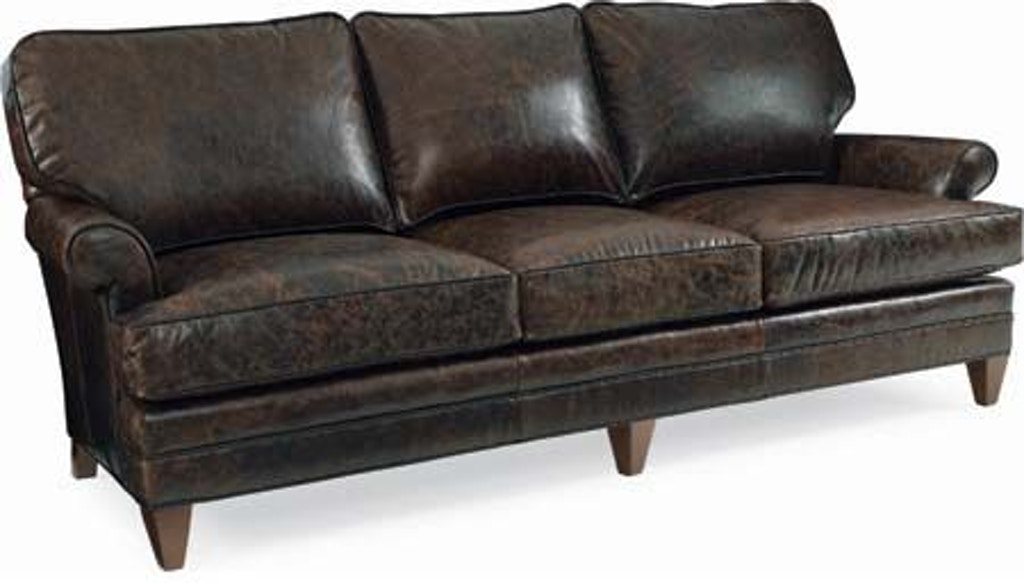 cr laine living room klein leather sofa l4400 flemington department store flemington nj. Black Bedroom Furniture Sets. Home Design Ideas