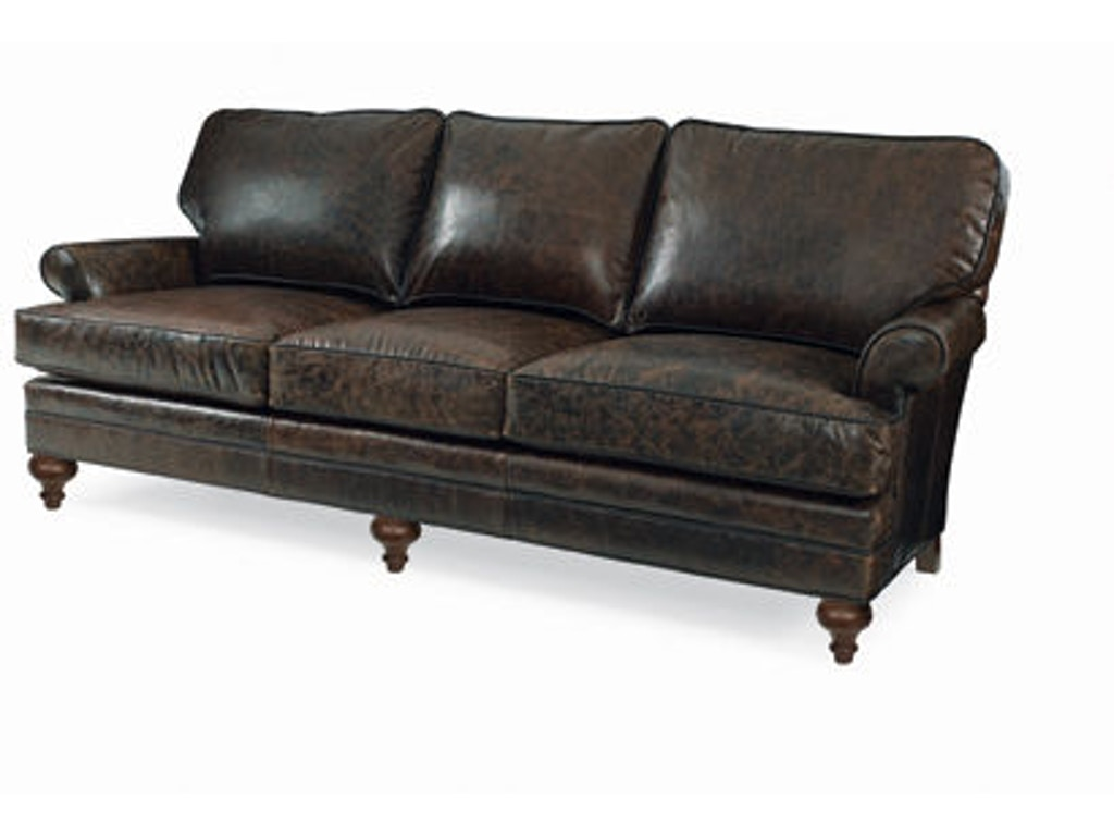 Cr Laine Living Room Kasey Leather Sofa L4500 Quality Furniture Murfreesboro Tn