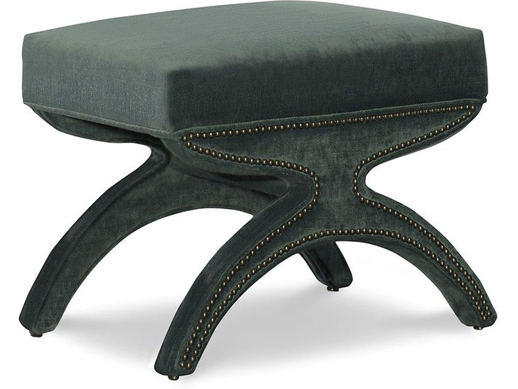 Astounding Leathercraft Furniture Living Room Milana Ottoman 503 Machost Co Dining Chair Design Ideas Machostcouk