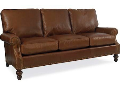 Larren Grey Peyton Leather Sofa L6990