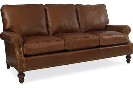 High Quality CR Laine Peyton Leather Sofa L6990