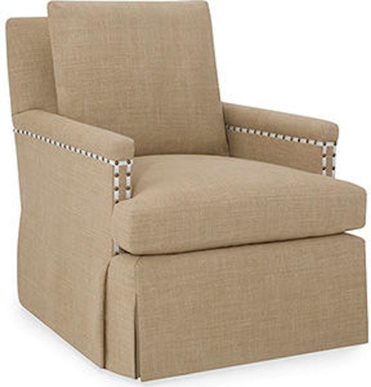 Larren Grey Living Room Swivel Chair 7025 Sw Whitley