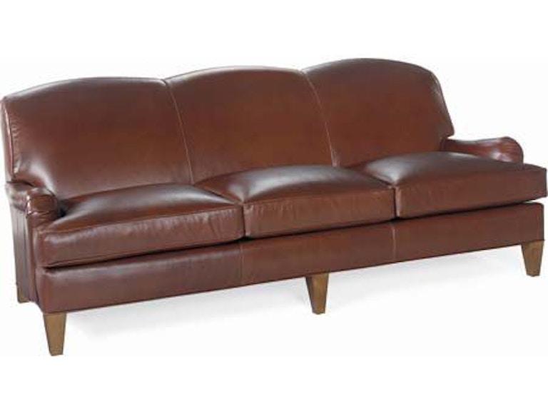 Larren Grey Russel Leather Sofa L8520