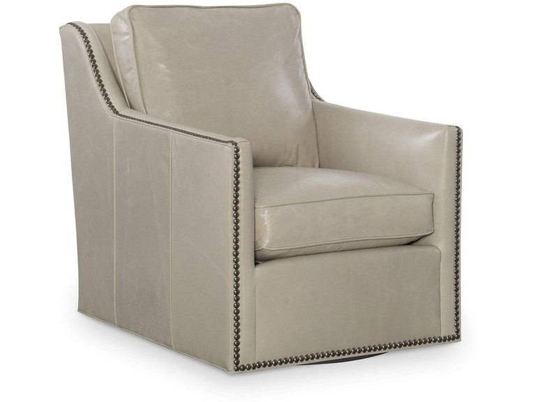 CR Laine Living Room Leather Swivel Chair L2588-05SW - Studio 882 ...