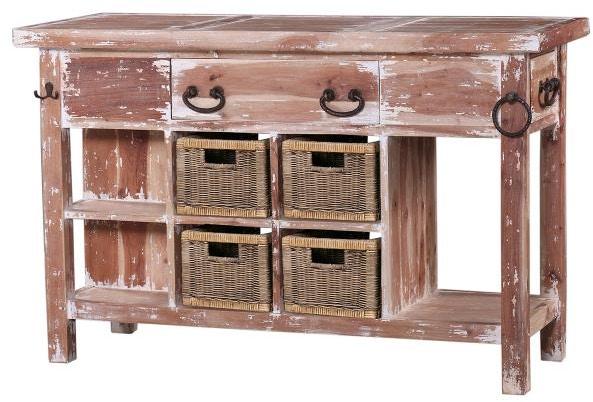 bramble umbria kitchen island small 23653 - indian river furniture
