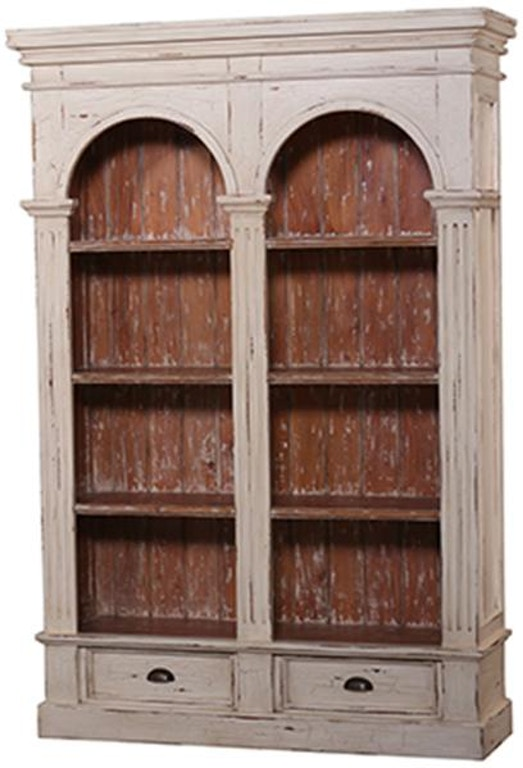 Bramble Home Office Roosevelt Double Arch Bookcase 23760