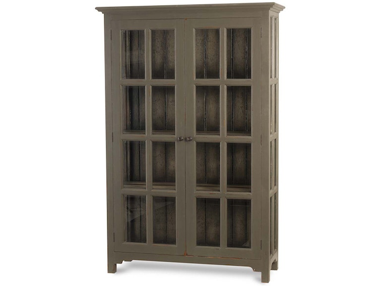 Bramble Home Office Aries Glass Door Bookcase 23768 Indian River