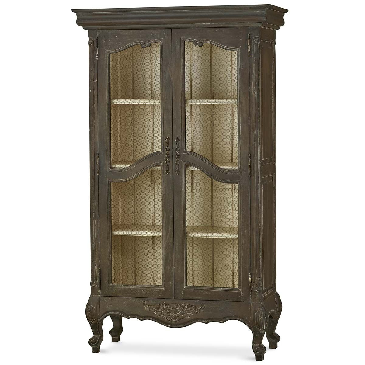 Bramble Chateau Linen Cupboard With Chicken Wire 24726