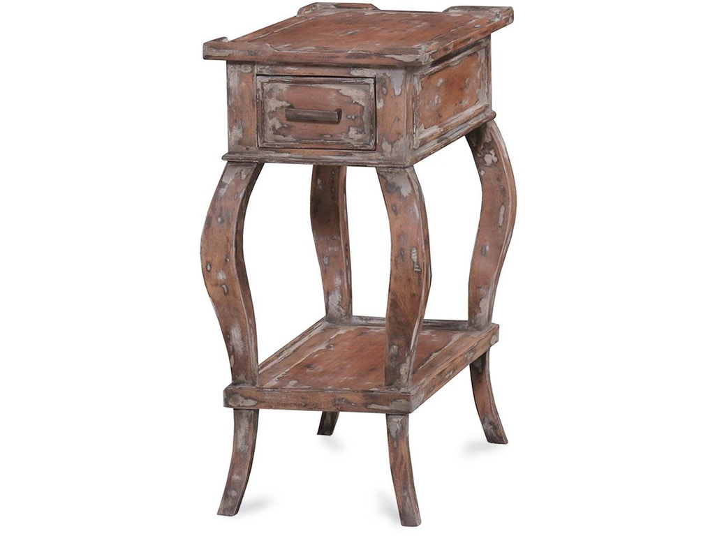 Bramble Living Room Creole End Table 25155 Indian River Furniture Rockledge Fl