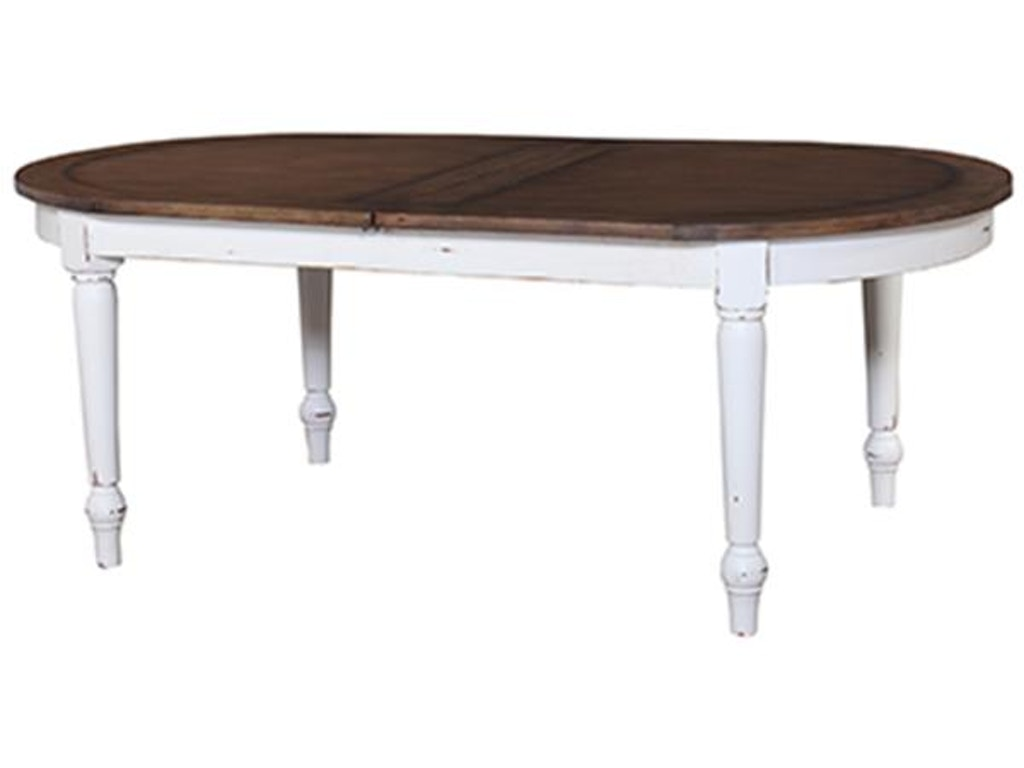 Bramble Dining Room Market Extension Table Open 25156 Cherry House Furniture La Grange And