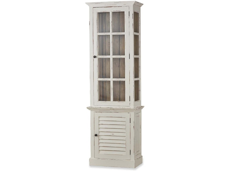 Bramble Cottage Tall Cabinet With Gl 25402