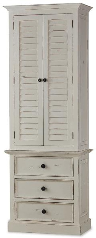 Bramble Nantucket Tall Shutter Cabinet 25444