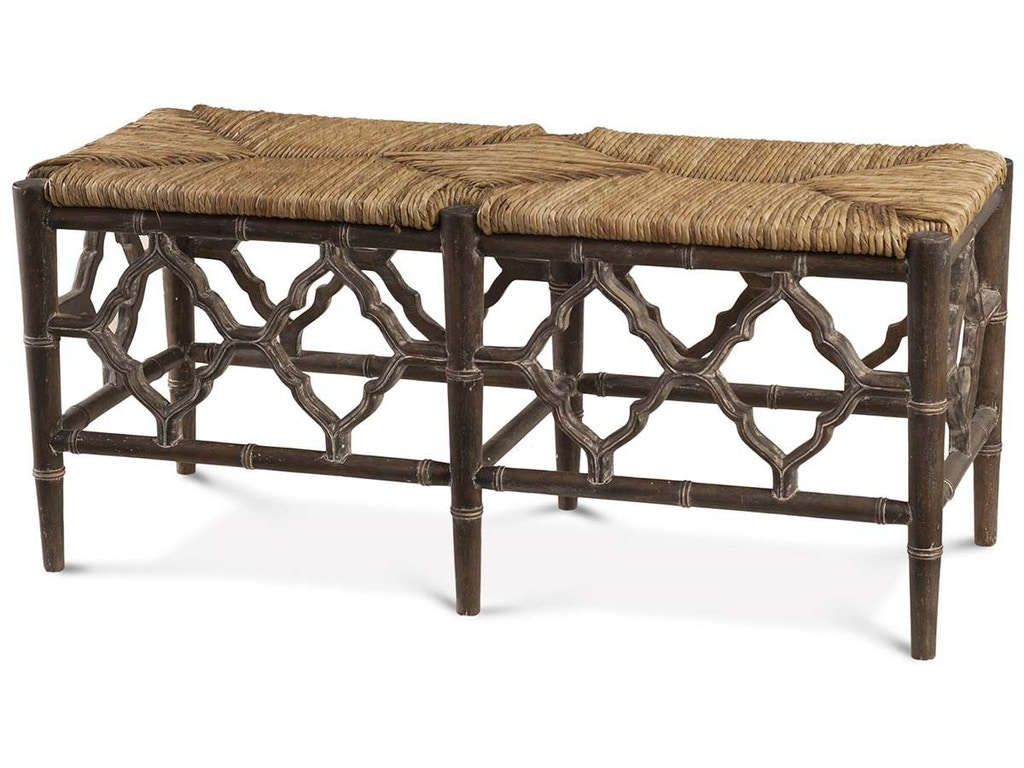 Bramble Dining Room Chinois Bench With Cushion 25675 J Bradwell 39 S Lahaska Pa