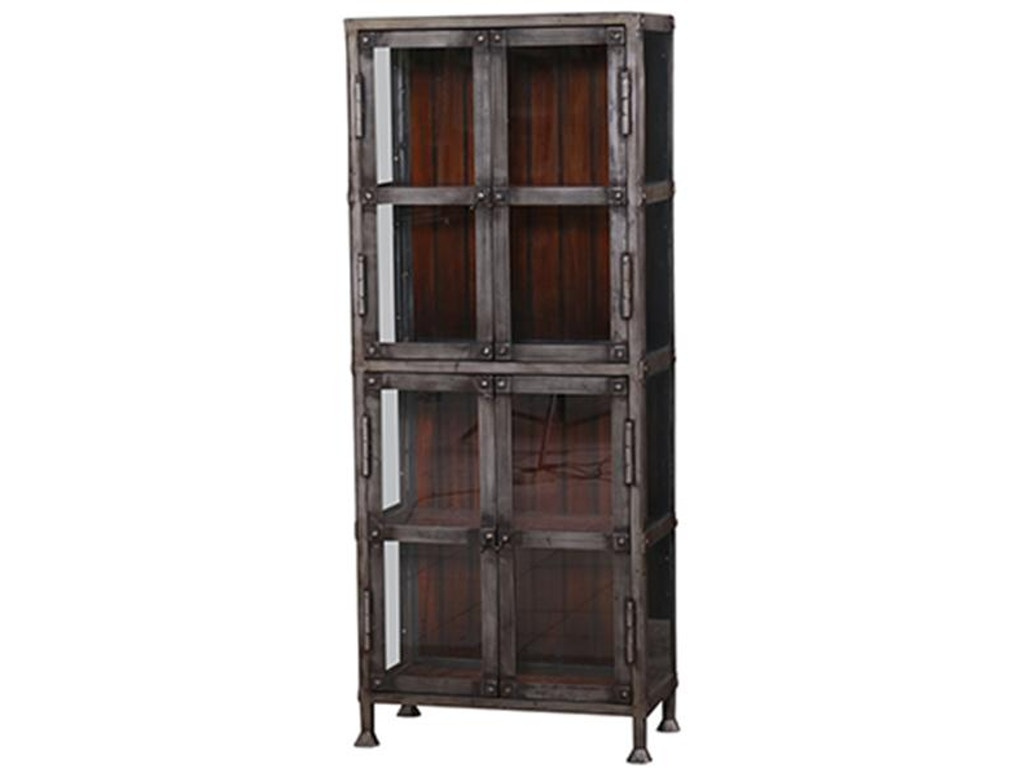 Bramble dining room urban narrow cabinet with glass 25874 shofer 39 s baltimore md - Narrow hutch for dining room ...