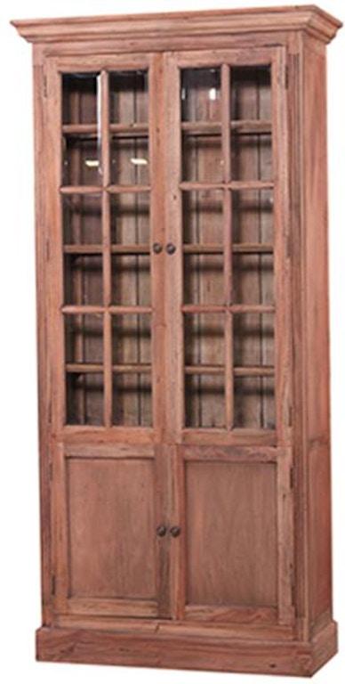 Bramble Living Room Walton Display Cabinet 26057 Seaside