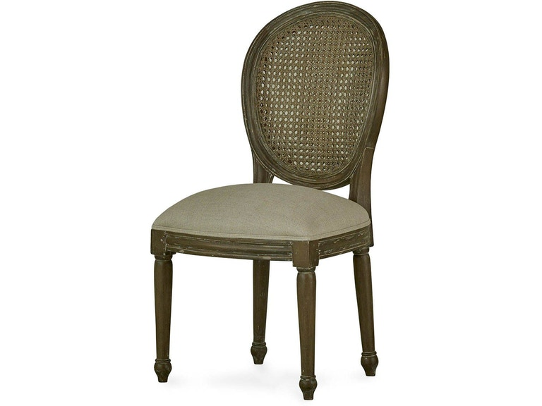 Bramble Dining Room Tulip Rattan Back Dining Chair Without Flutted