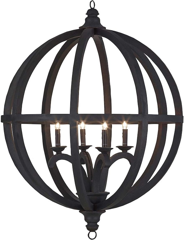 Axel Orb Chandelier Large Br 26832
