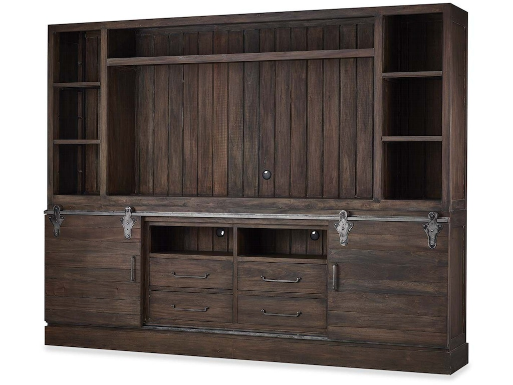 Top Opening Cabinets ~ Bramble home entertainment sonoma open top cabinet tv
