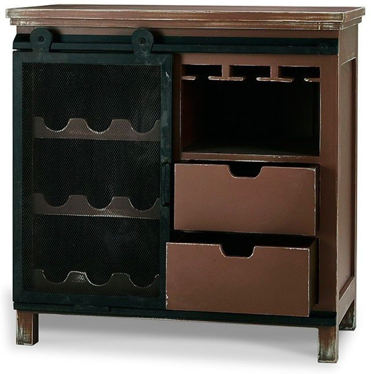 Bramble Bar And Game Room Stratton Wine Cabinet 27233