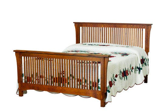 Picture of: Borkholder Furniture Bedroom Bungalow Spindle Bed Queen 13 1501qxx Hickory Furniture Mart