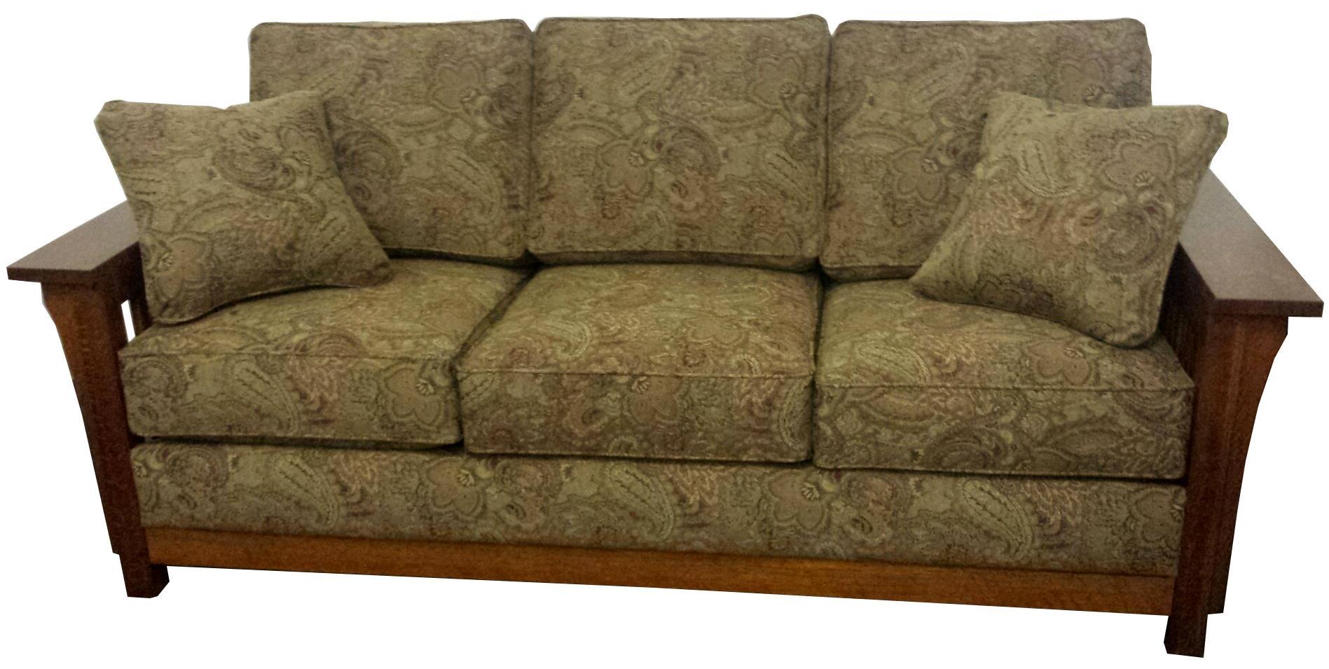 Borkholder Furniture Bungalow Sofa   Standard Fabric 13 2302STD