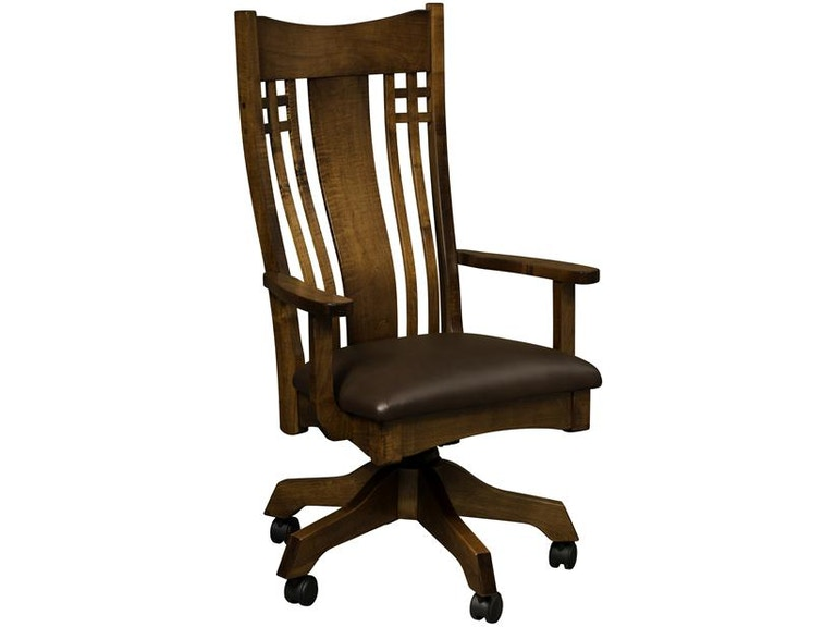 Peachy Borkholder Furniture Home Office Larson Desk Chair Nc Uwap Interior Chair Design Uwaporg