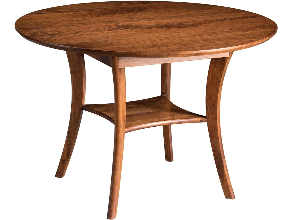 Gat Creek Dining Room Barbara 45 Round Table Gat39292 Walter E Smithe Furniture Design