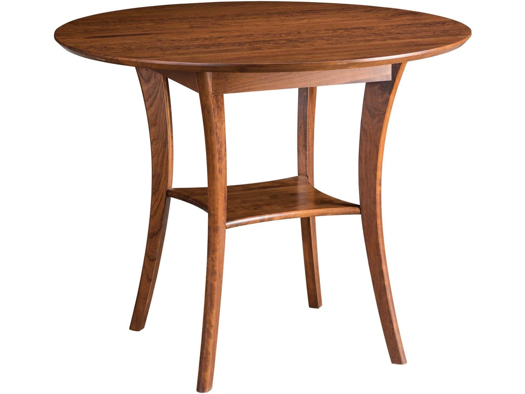 Fantastic Gat Creek Dining Room Barbara 45 Round Counter Height Table Gat39293 Walter E Smithe Furniture Design Camellatalisay Diy Chair Ideas Camellatalisaycom
