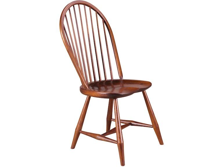 Gat Creek Dining Room Long Island Windsor Side Chair 81055 At Bennington Furniture
