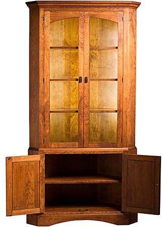 Dining Room Corner Cabinets Furniture: Gat Creek Dining Room Chase Corner Cabinet 81330