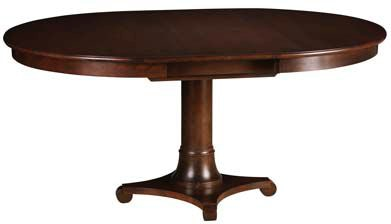 Gat Creek Dining Room Meyer 42 Round Pedestal Table With One 18