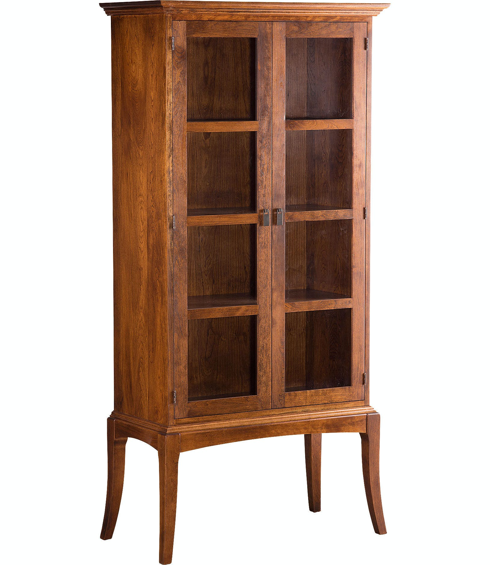 Sabin Bookcase With Glass Doors Gat82889