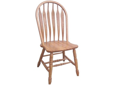 Tennessee Enterprises Colonial Windsor Bowback Side Chair 3125H