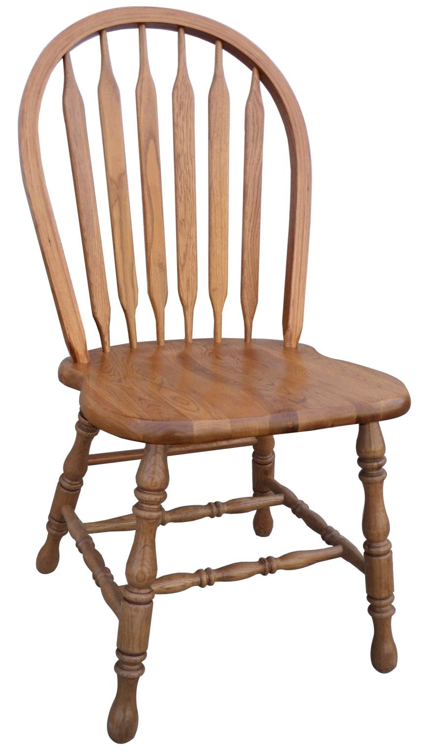 3147H. Country Arrow Back Side Chair