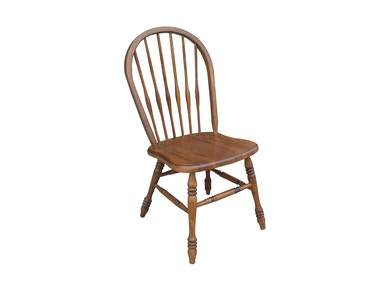 Tennessee Enterprises Turned Leg Side Chair 3157BW