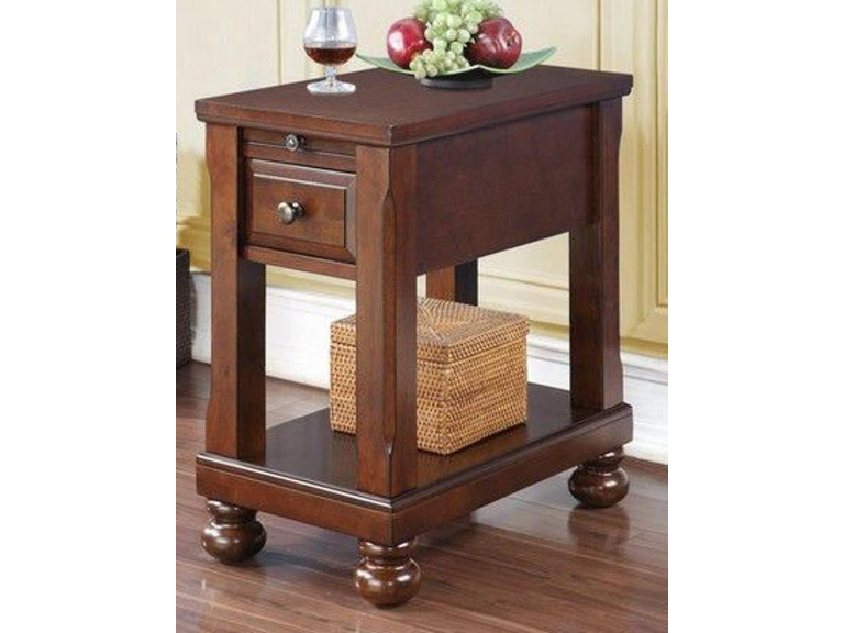Tennessee Enterprises Living Room Chair side Table With ...