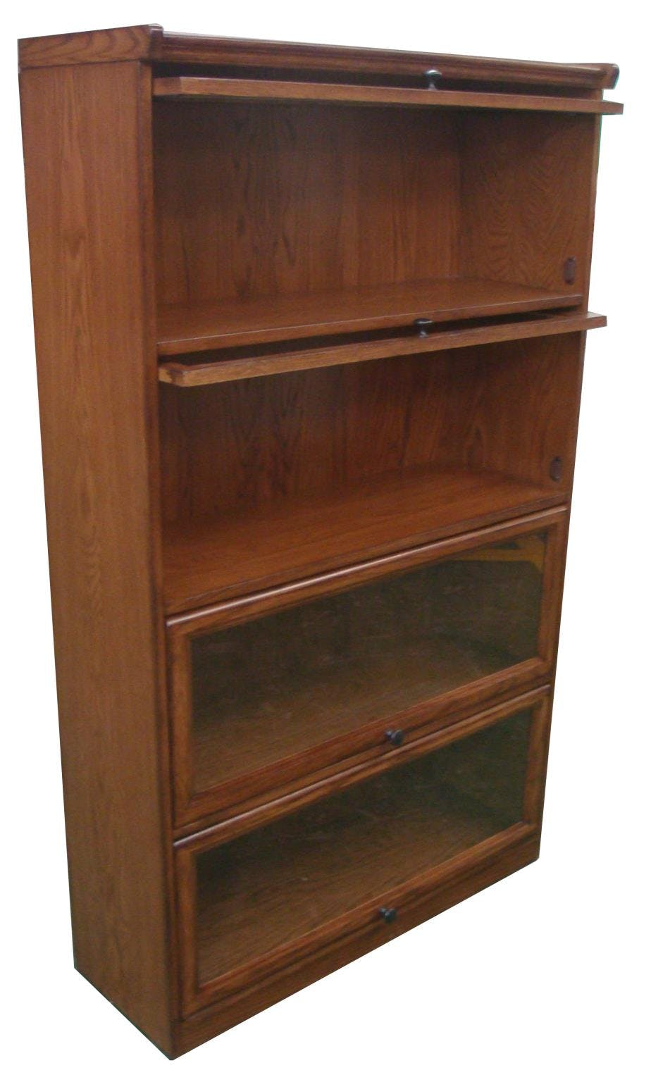 Tennessee Enterprises Home Office 4 Door Barrister Bookcase