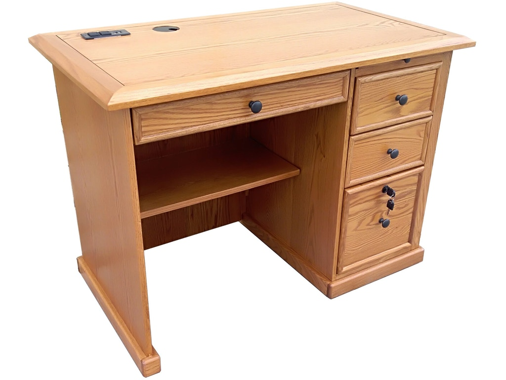 Home Office Furniture Michigan: Tennessee Enterprises Home Office 42 Inches Flat Top Desk