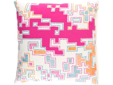 Surya Macro 18 x 18 x 4 Throw Pillow ACR002-1818D