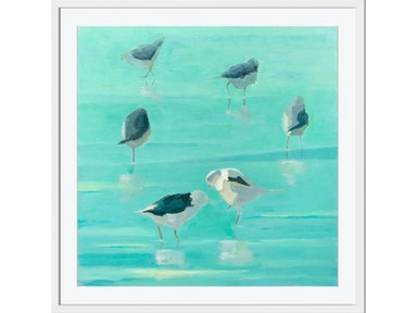 Surya Birds By The Waters Edge I - Wall Art AD104A-001
