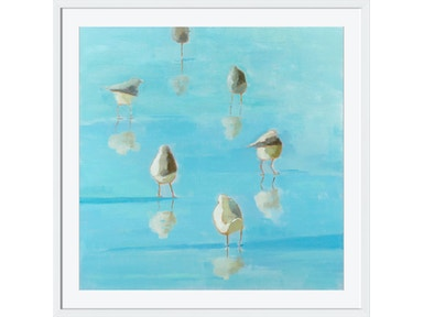 Surya Birds By The Waters Edge II - Wall Art AD105A-001