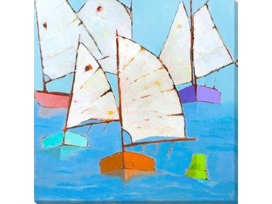 Surya Boats Abound - Wall Art AD106A-001