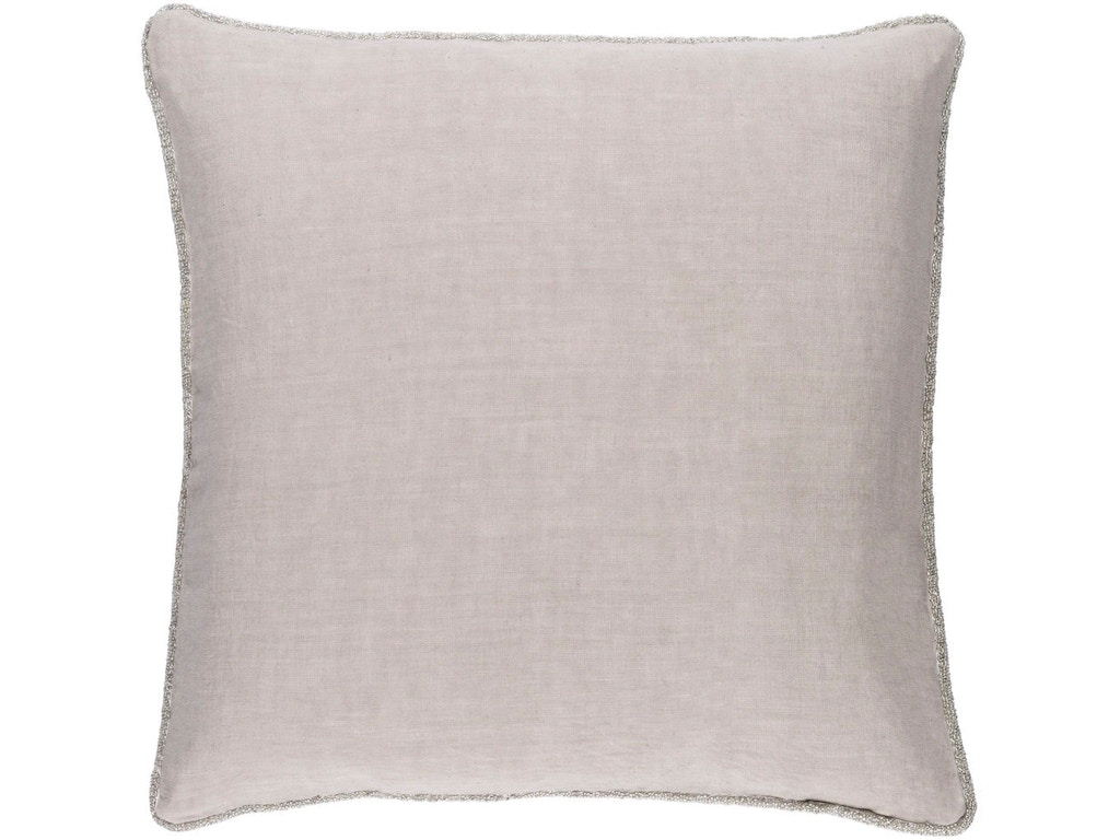 Surya Accessories Sasha 18 x 18 x 4 Throw Pillow AH001-1818D - Zing Casual Living - Naples and ...