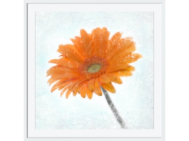 Surya Gerbera Orange - Wall Art AI268A-001