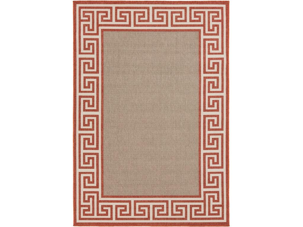Surya Floor Coverings Alfresco Rug Alf9628 Woodchucks